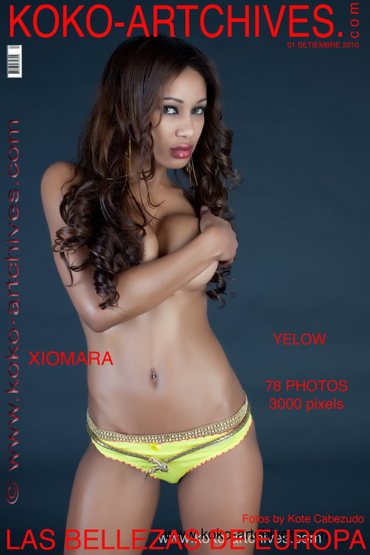 Xiomara - `Yelow` - by Kote Cabezudo for KOKO ARCHIVES