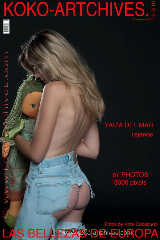 Yaiza Del Mar - `Tejanos` - by Kote Cabezudo for KOKO ARCHIVES