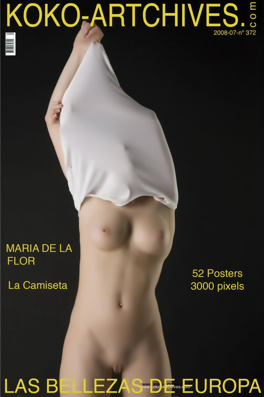 Maria De La Flor - `La Camiseta` - by Kote Cabezudo for KOKO ARCHIVES