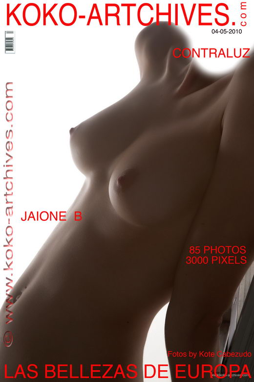 Jaione B - `Contraluz` - by Kote Cabezudo for KOKO ARCHIVES