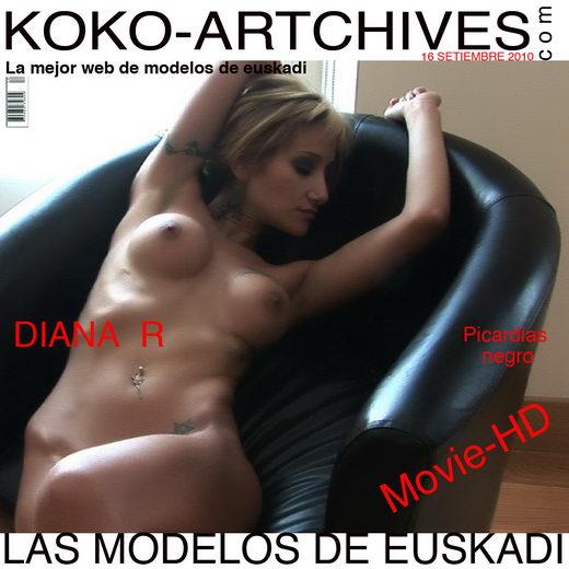 Diana R - `Picardas Negro` - by Kote Cabezudo for KOKO ARCHIVES