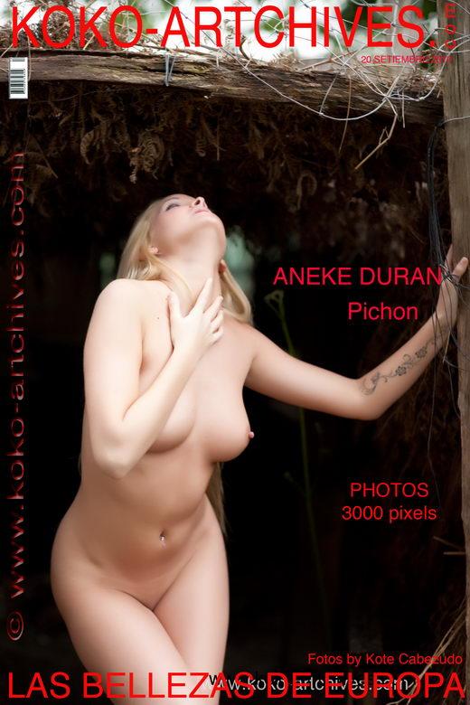 Aneke Duran - `Pichon` - by Kote Cabezudo for KOKO ARCHIVES