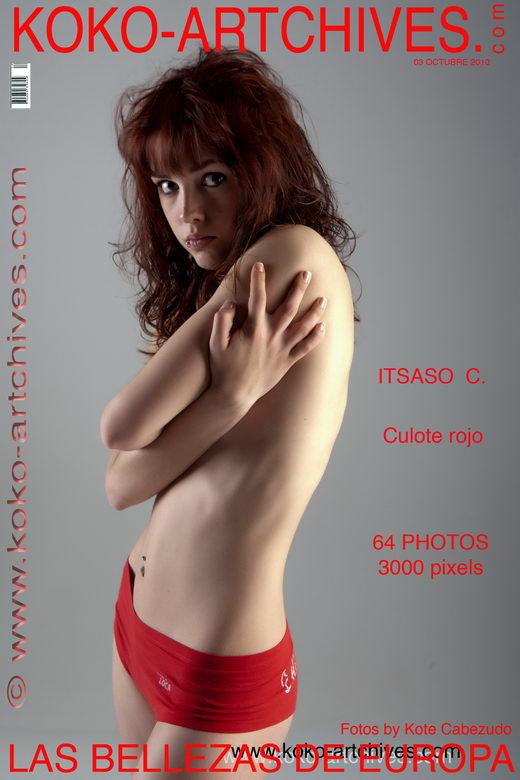 Itsaso C - `Culote Rojo` - by Kote Cabezudo for KOKO ARCHIVES