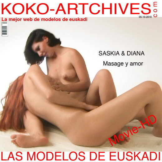 Saskia & Diana - `Masage y Amor` - by Kote Cabezudo for KOKO ARCHIVES