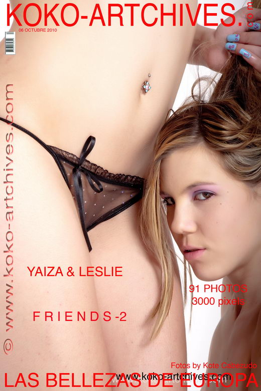 Yaiza & Leslie - `Friends - 2` - by Kote Cabezudo for KOKO ARCHIVES
