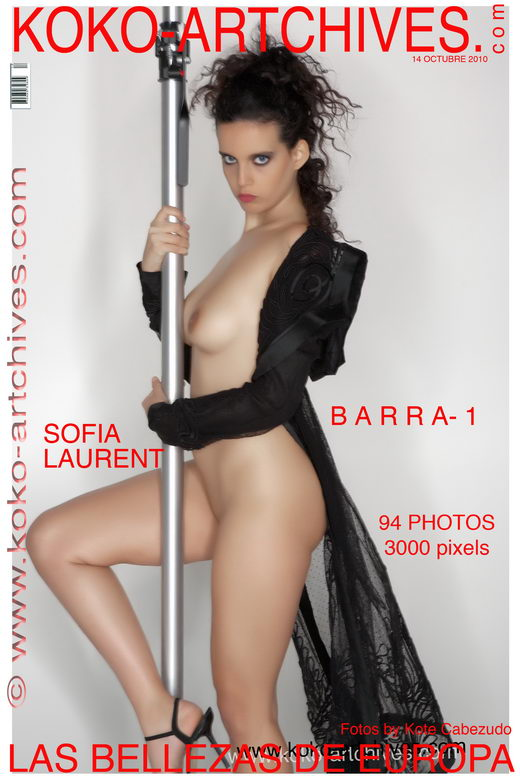 Sofia Laurent - `Barra-1` - by Kote Cabezudo for KOKO ARCHIVES
