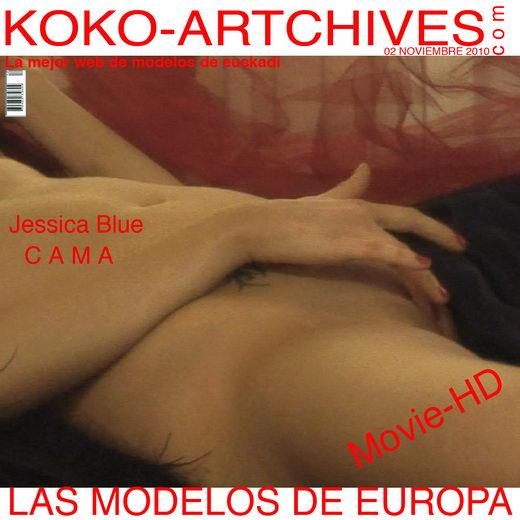 Jessica Blue - `Cama` - by Kote Cabezudo for KOKO ARCHIVES