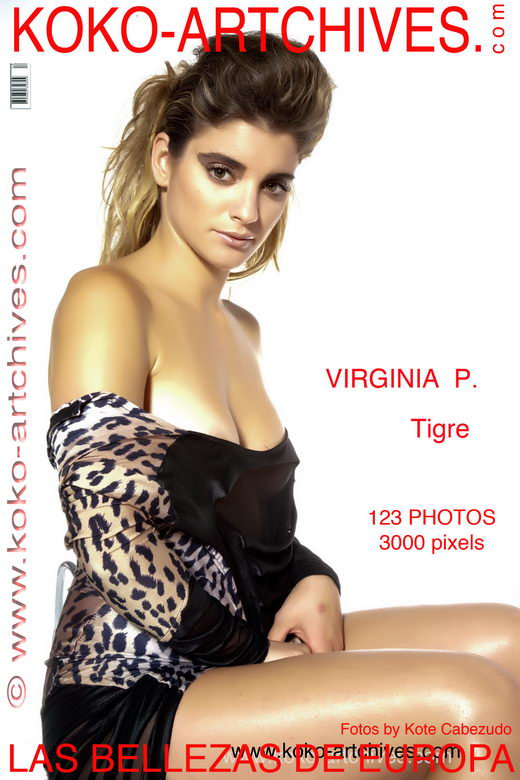 Virginia P - `Tigre` - by Kote Cabezudo for KOKO ARCHIVES
