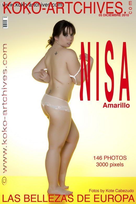 Nisa - `Amarillo` - by Kote Cabezudo for KOKO ARCHIVES