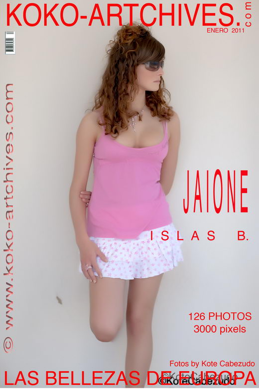 Jaione - `Islas B` - by Kote Cabezudo for KOKO ARCHIVES