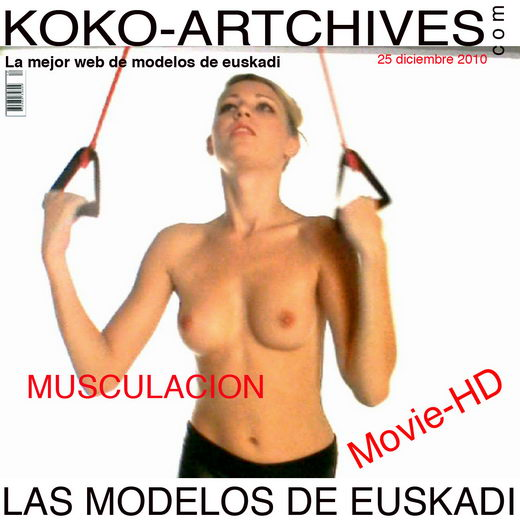 Alisa - `Musculation` - by Kote Cabezudo for KOKO ARCHIVES