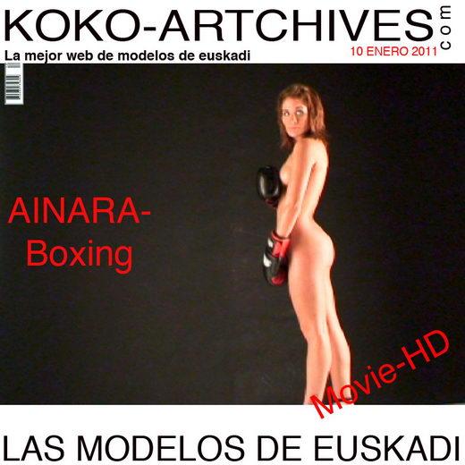 Ainara - `Boxing` - by Kote Cabezudo for KOKO ARCHIVES