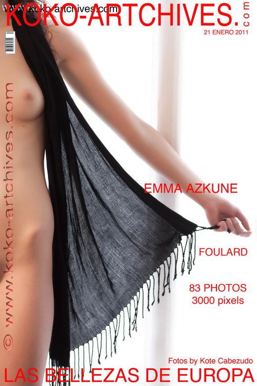 Emma Azkune - `Foulard` - by Kote Cabezudo for KOKO ARCHIVES