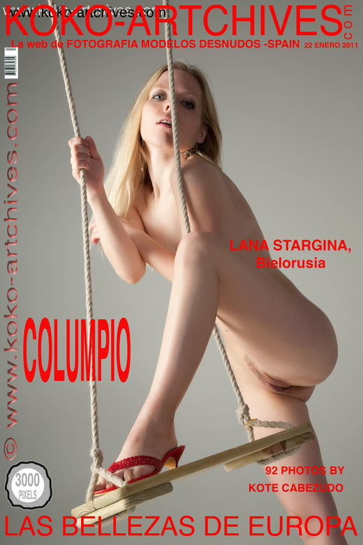 Lana Stargina - `Columpio` - by Kote Cabezudo for KOKO ARCHIVES