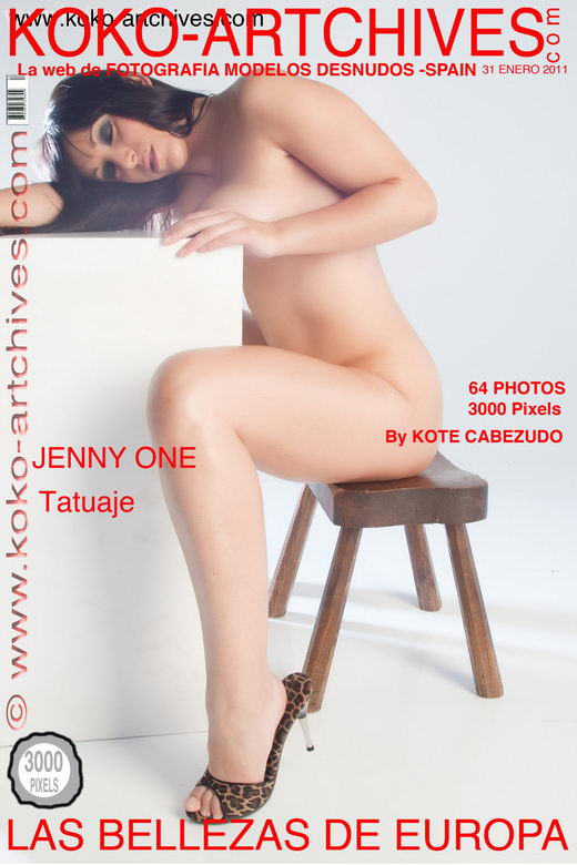 Jenny One - `Tatuaje` - by Kote Cabezudo for KOKO ARCHIVES