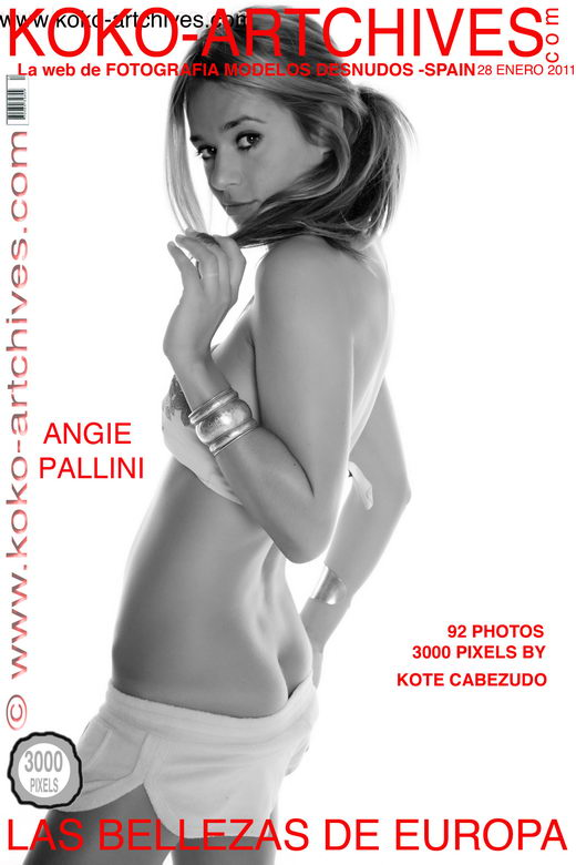Angie Pallini - by Kote Cabezudo for KOKO ARCHIVES