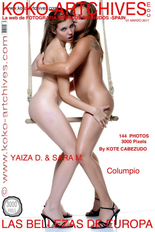Yaiza D & Sara M - `Columpio` - by Kote Cabezudo for KOKO ARCHIVES