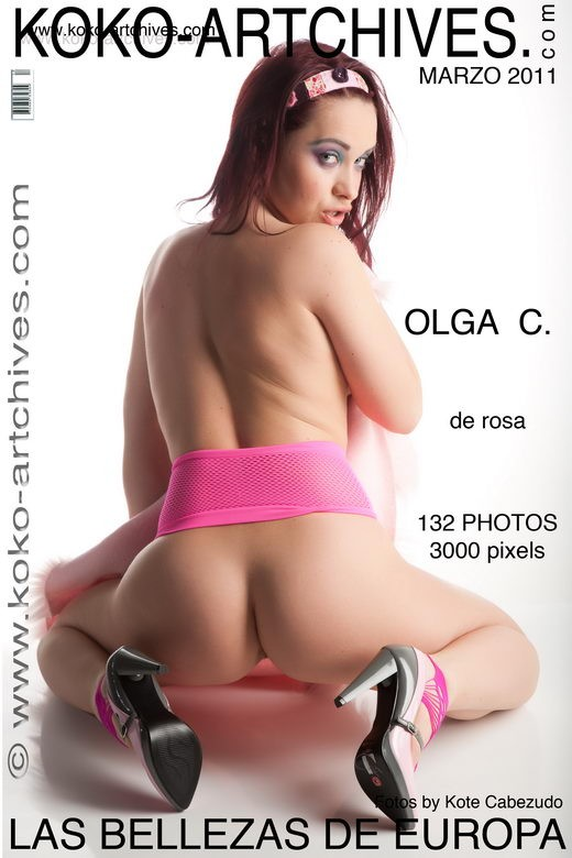 Olga C - `De Rosa` - by Kote Cabezudo for KOKO ARCHIVES