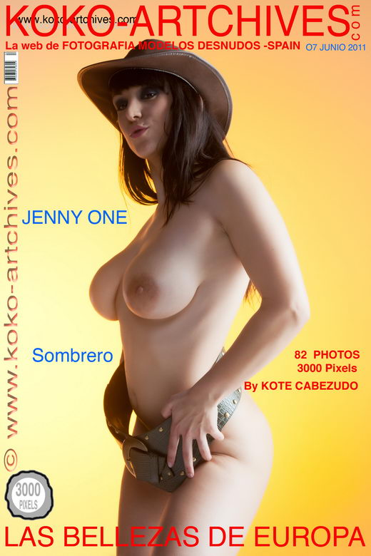 Jenny One - `Sombrero` - by Kote Cabezudo for KOKO ARCHIVES