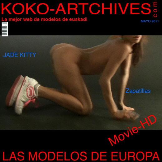 Jade Kitty - `Zapatillas` - by Kote Cabezudo for KOKO ARCHIVES