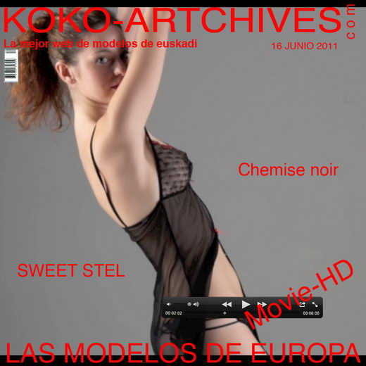 Sweet Stel - `Chemise Noir` - by Kote Cabezudo for KOKO ARCHIVES