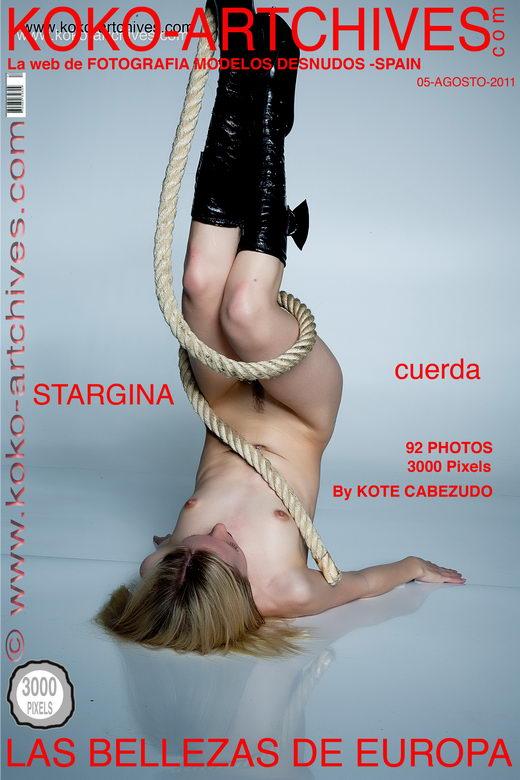 Stargina - `Cuerda` - by Kote Cabezudo for KOKO ARCHIVES