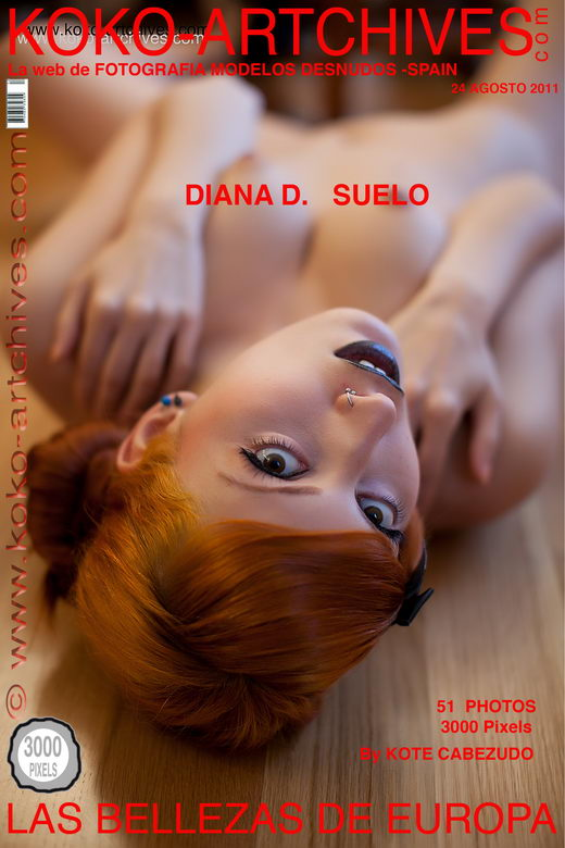 Diana D - `Suelo` - by Kote Cabezudo for KOKO ARCHIVES