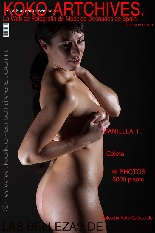 Daniella F - `Coleta` - by Kote Cabezudo for KOKO ARCHIVES
