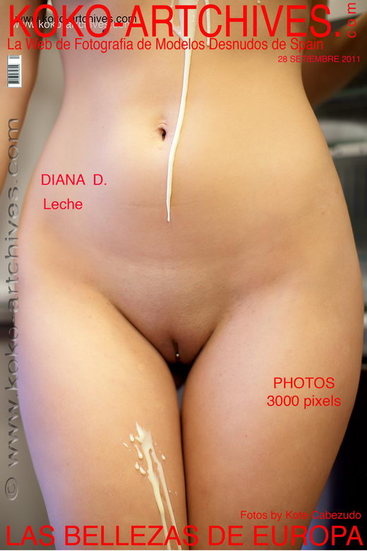 Diana D - `Leche` - by Kote Cabezudo for KOKO ARCHIVES