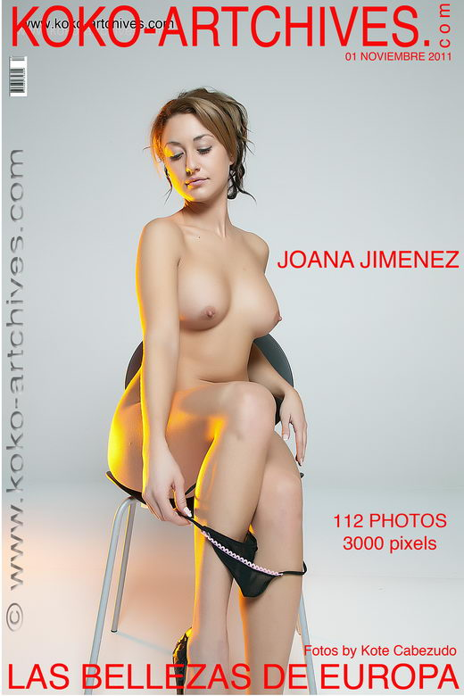 Joana Jimenez - by Kote Cabezudo for KOKO ARCHIVES