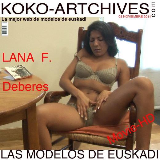 Lana F - `Deberes` - by Kote Cabezudo for KOKO ARCHIVES