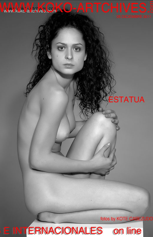 Marisa M - `Estatua` - by Kote Cabezudo for KOKO ARCHIVES