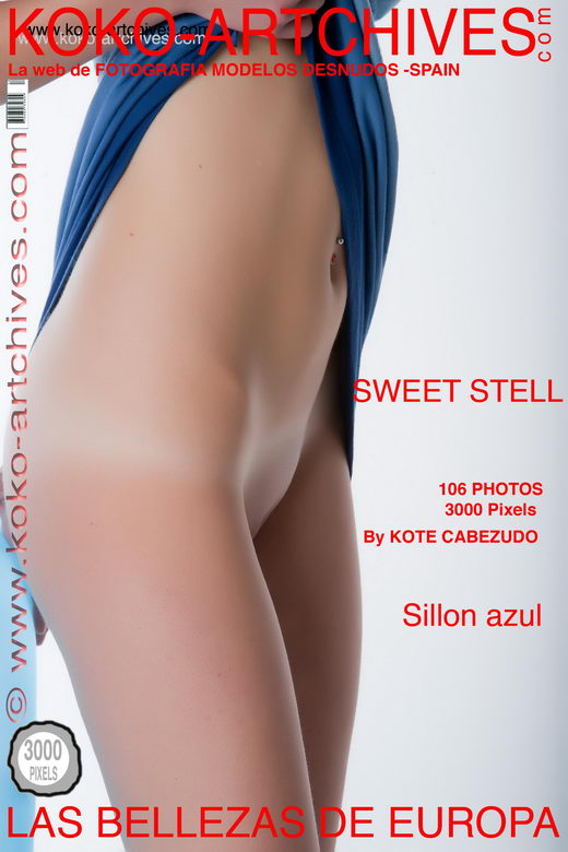 Sweet Stell - `Sillon Azul` - by Kote Cabezudo for KOKO ARCHIVES