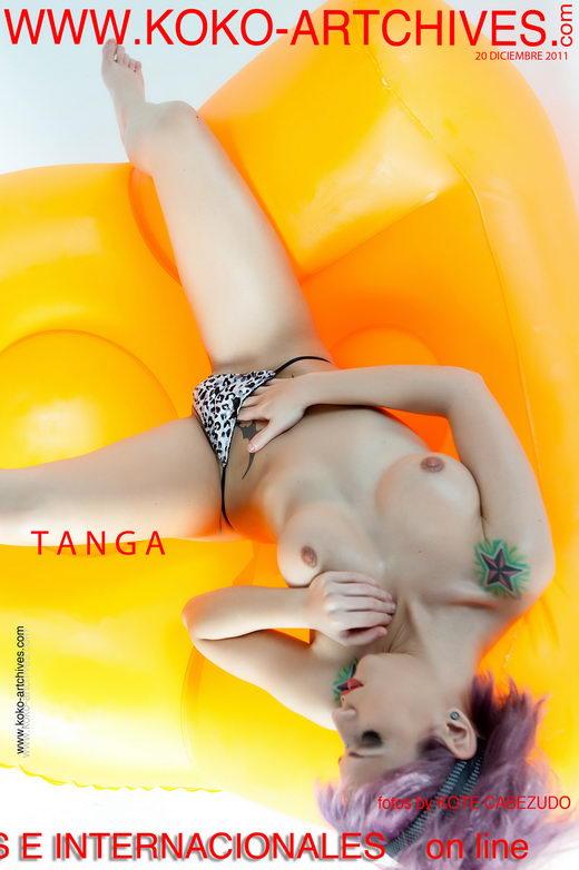 Aris Dark - `Tanga` - by Kote Cabezudo for KOKO ARCHIVES