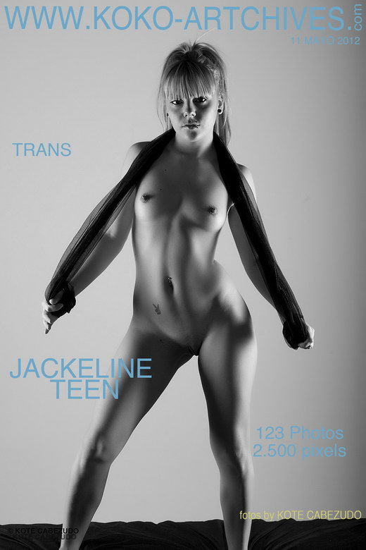 Jackeline Teen - `Trans` - by Kote Cabezudo for KOKO ARCHIVES