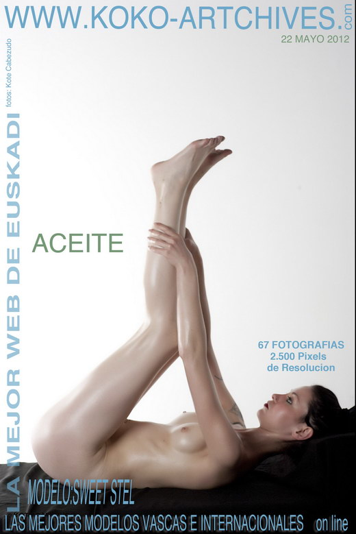 Sweet Stel - `Aceite` - by Kote Cabezudo for KOKO ARCHIVES