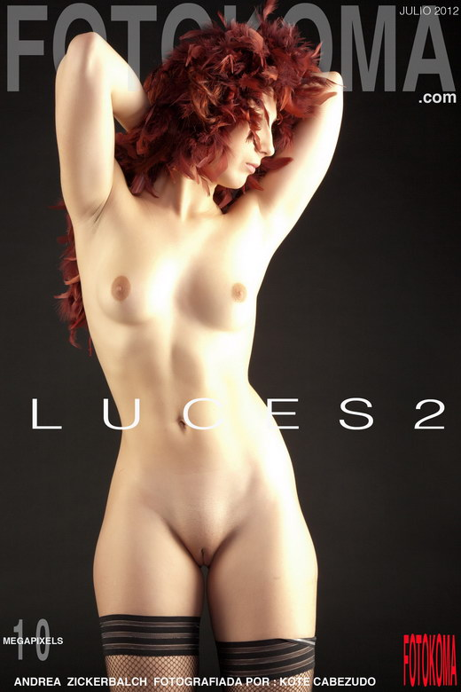 Andrea Z - `Luces-2` - by Kote Cabezudo for KOKO ARCHIVES