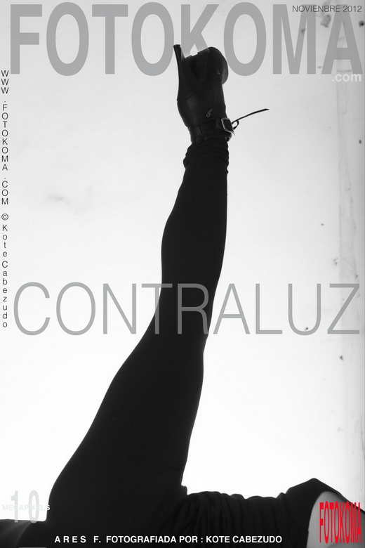 Ares F - `Contraluz` - by Kote Cabezudo for KOKO ARCHIVES