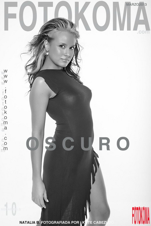 Natalia B - `Oscuro` - by Kote Cabezudo for KOKO ARCHIVES