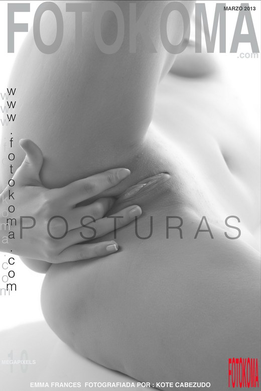 Emma Frances - `Posturas` - by Kote Cabezudo for KOKO ARCHIVES