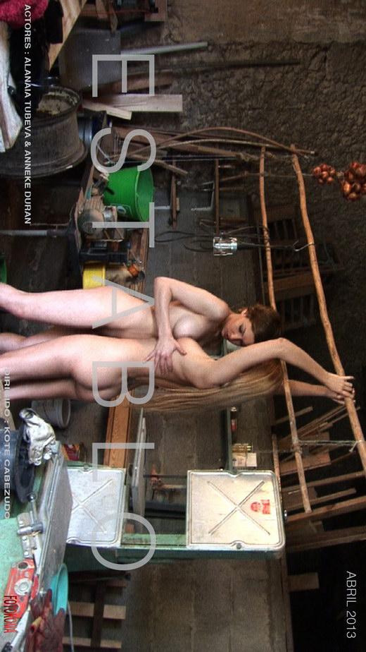 Alanaia Tubeva & Anneke Duran - `Establo` - by Kote Cabezudo for KOKO ARCHIVES