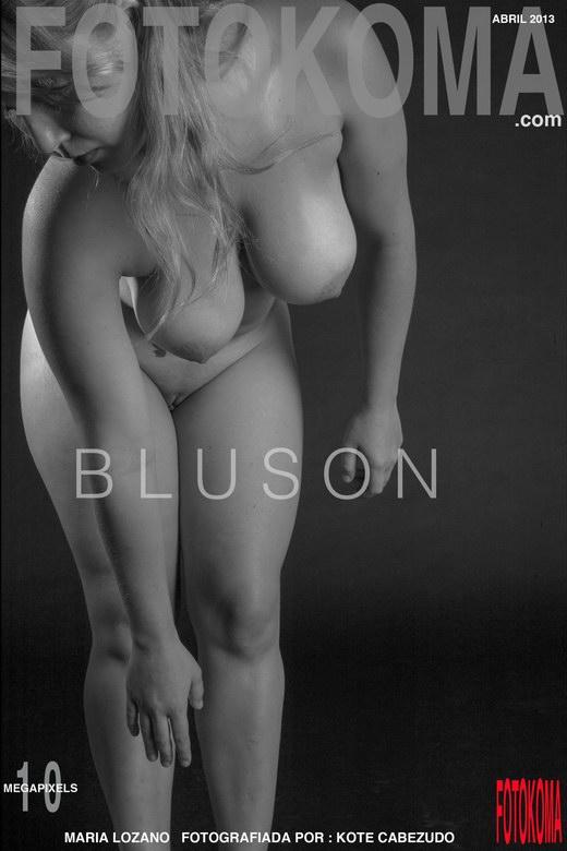 Maria Lozano - `Bluson` - by Kote Cabezudo for KOKO ARCHIVES