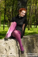 In Purple Pantyhose