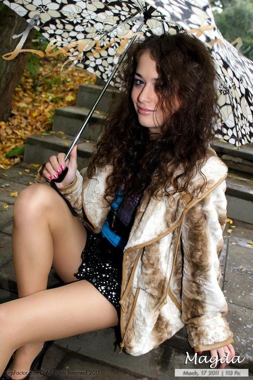 Magda - `With Umbrella` - for LEGSFACTOR