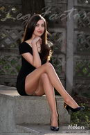 In Sisi Fascino 15 And Black Minidress