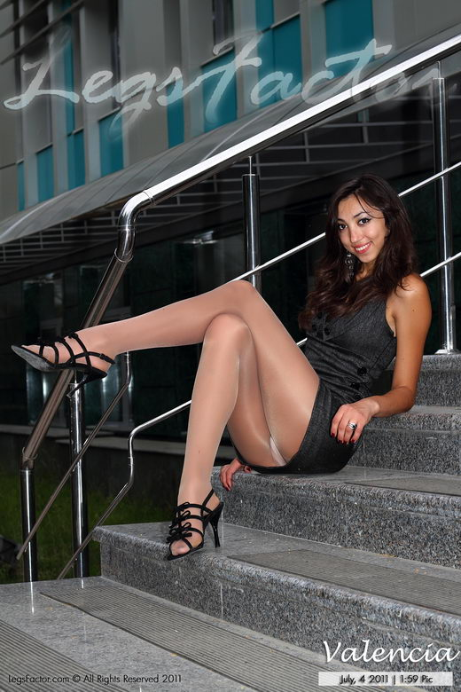 Valencia - `On Stairs` - for LEGSFACTOR