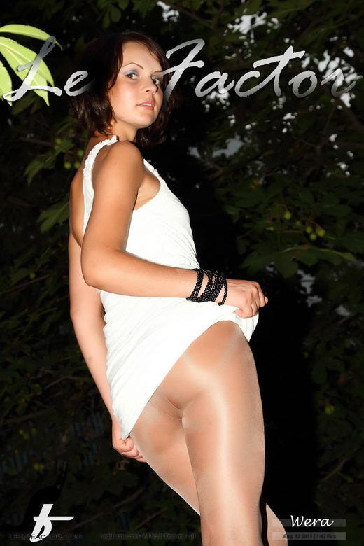 Wera - `In White Minidress` - for LEGSFACTOR