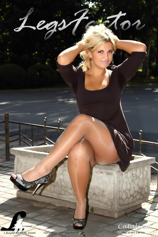 Catalina - `In Brown Dress` - for LEGSFACTOR