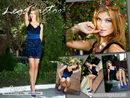 In Conte Prestige And Blue Silk Dress