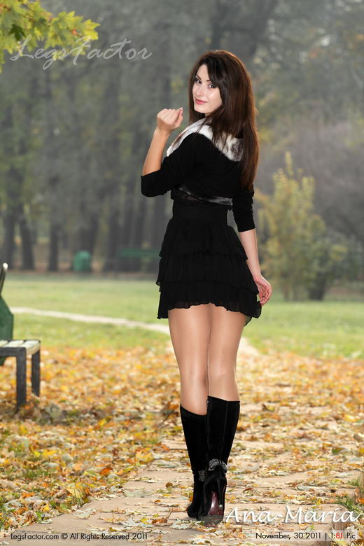 Ana-Maria - `In Black Boots` - for LEGSFACTOR